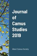 Pdf Journal of Camus Studies 2019 Telecharger