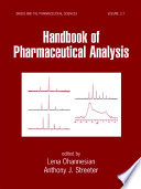 Handbook Of Pharmaceutical Analysis Book PDF