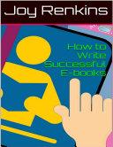 How to Write Successful E books