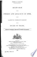 Report on Strikes and Lock outs in the United Kingdom     and on Conciliation and Arbitration Boards     Book PDF