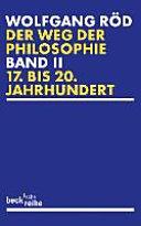 Der Weg der Philosophie von den Anfängen bis ins 20. Jahrhundert