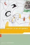 Memoir of an Art Gallery Book