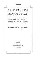 The fascist revolution