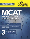 MCAT Psychology and Sociology Review