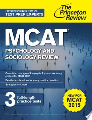 Download MCAT Psychology and Sociology Review Free PDF Books - Free PDF