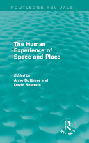 The Human Experience of Space and Place Pdf/ePub eBook