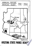 Annual Report, Annual Audit - Arizona State Parks Board