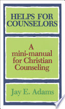 Helps for Counselors Book
