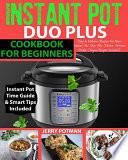 Instant Pot Duo Plus Cookbook