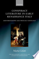 Conspiracy Literature in Early Renaissance Italy