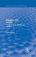 Routledge Revivals: Pandora and Occam (1992)