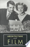 Architecture and Film Book