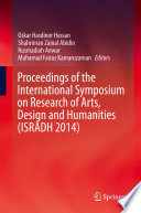 Proceedings of the International Symposium on Research of Arts  Design and Humanities  ISRADH 2014  Book
