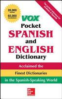 Vox Pocket Spanish English Dictionary