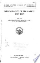 Bibliography Of Education For