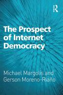 The Prospect of Internet Democracy Pdf/ePub eBook