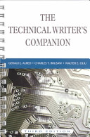 The Technical Writer S Companion