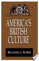 America s British Culture