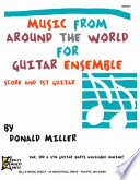 Music from Around the World for Guitar Ensemble