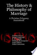 The History   Philosophy of Marriage