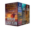 Stormlight Archive MM Boxed Set I, Books 1-3: The Way of Kings, Words of Radiance, Oathbringer image