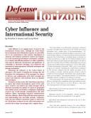Pdf Cyber Influence and International Security Telecharger