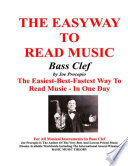 THE EASYWAY TO READ MUSIC BASS CLEF