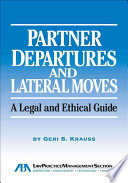 Partner Departures and Lateral Moves