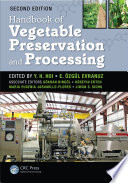Handbook Of Vegetable Preservation And Processing Book PDF