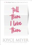 Tell Them I Love Them Pdf/ePub eBook