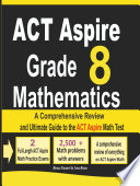 ACT Aspire Grade 8 Mathematics