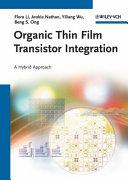 Organic Thin Film Transistor Integration Book