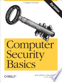 Computer Security Basics Book PDF