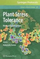 Plant Stress Tolerance Book