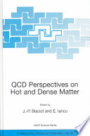 QCD Perspectives on Hot and Dense Matter