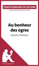 Au bonheur des ogres de Daniel Pennac ebook