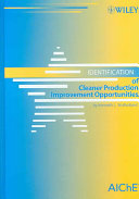 identification of cleaner production improvement opportunities mulholl and kenneth l