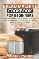 Pdf Bread Machine Cookbook for Beginners