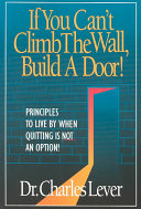 If You Can't Climb the Wall, Build a Door!