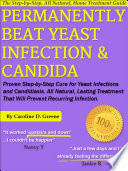 Permanently Beat Yeast Infection   Candida Book
