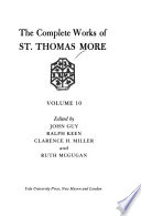 The Complete Works of St. Thomas More: The debellation of Salem and Bizance