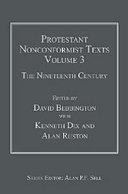 Protestant Nonconformist Texts  The nineteenth century