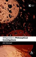 Wittgenstein's 'Philosophical Investigations' Pdf/ePub eBook