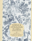 Science and Civilisation in China  Volume 6  Biology and Biological Technology  Part 3  Agro Industries and Forestry