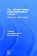 Philosophical Papers, 1896-99 - Volume 2 - Página 607