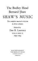 Shaw s Music Book