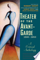 Theater Of The Avant Garde 1890 1950
