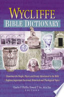 Wycliffe Bible Dictionary