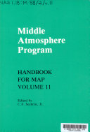 Middle Atmosphere Program  Condensed minutes of the MAP Steering Committee meetings held in Hamburg 13 14 August 1983  research recommendations for increased US participation in the Middle Atmosphere Program