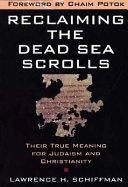 Pdf Reclaiming the Dead Sea Scrolls